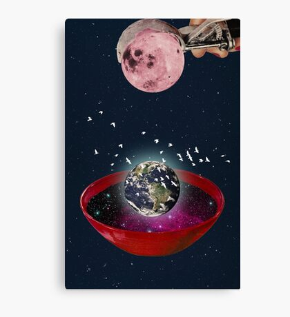 Color Chaos Collection -- The Creation Of The Universe Canvas Print