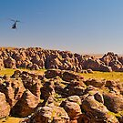 Helicopter view of Bungle Bungles, Western Australia by johnrf