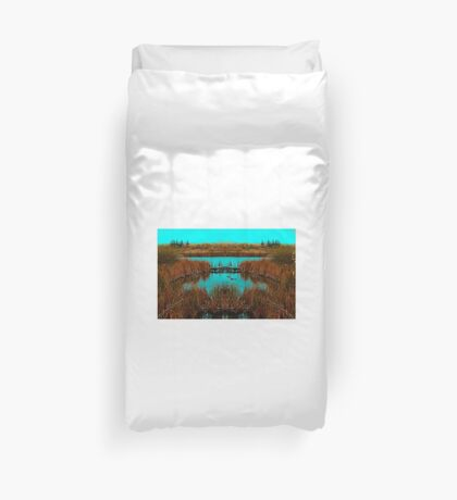 All is at Peace  Duvet Cover