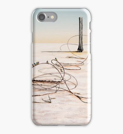The Hippies Pilgrimage to Lake Eyre iPhone Case/Skin
