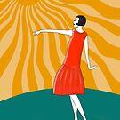 Die Frau, die in der Sonne tanzt von WACHtraum