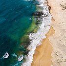Sandy Beach by DRONY