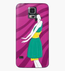 Die Frau, die in der Sonne tanzt 2 Hülle & Klebefolie für Samsung Galaxy
