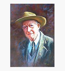 'Portrait of Tom Tehan' Photographic Print