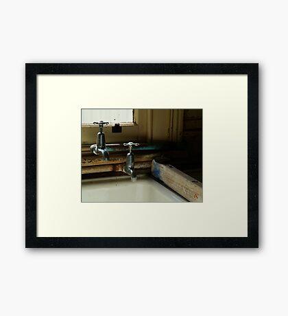 The Old Laundary Framed Print