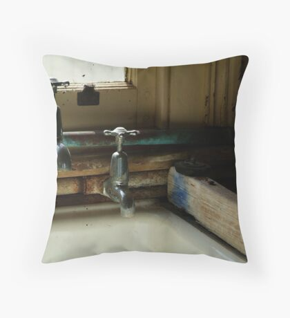 The Old Laundary Throw Pillow