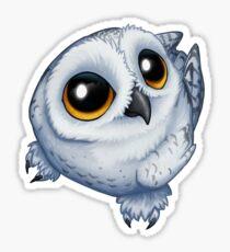 Snowy Owlette Sticker
