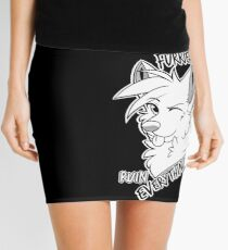 Furries ruin everything Mini Skirt
