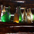 Bottles in the Shed  by Joe Mortelliti
