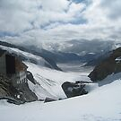 Jungfrau Mountain by Vanessa Semmens