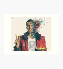 Logic Album cover Confessions Dangerous Mind Art Print