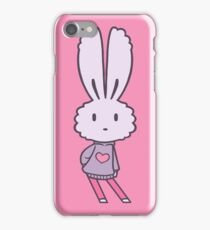 Marshmallow Bunny Sass iPhone Case/Skin