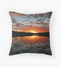 Sunset @ Narrabeen Lakes II Throw Pillow