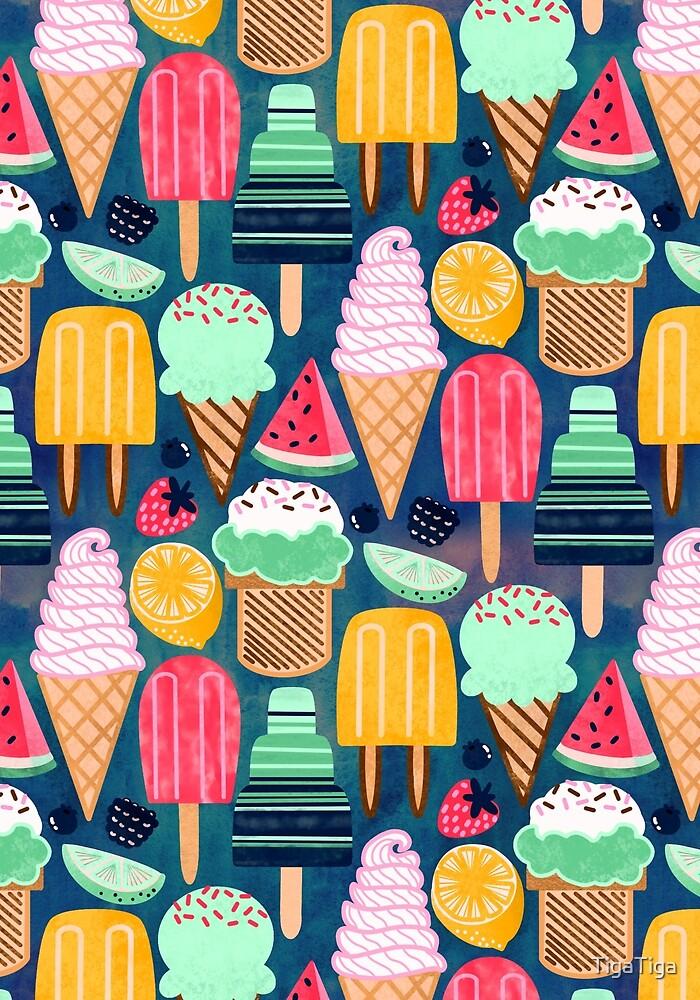 Yum-Summer Ice Cream  by TigaTiga