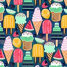 Yum-Summer Ice Cream  by TigaTiga