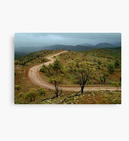 Razor Back Storm, Flinders Ranges Canvas Print