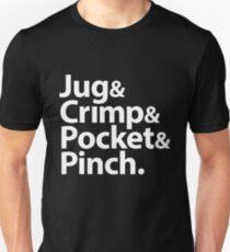 Sloper & Crimp & Pocket & Pinch Unisex T-Shirt