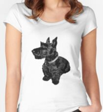 Scottie's for ever! Women's Fitted Scoop T-Shirt