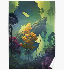 Vegetal Chasm Poster