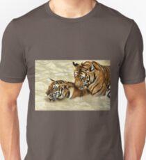 2 Tigers at Play T-Shirt