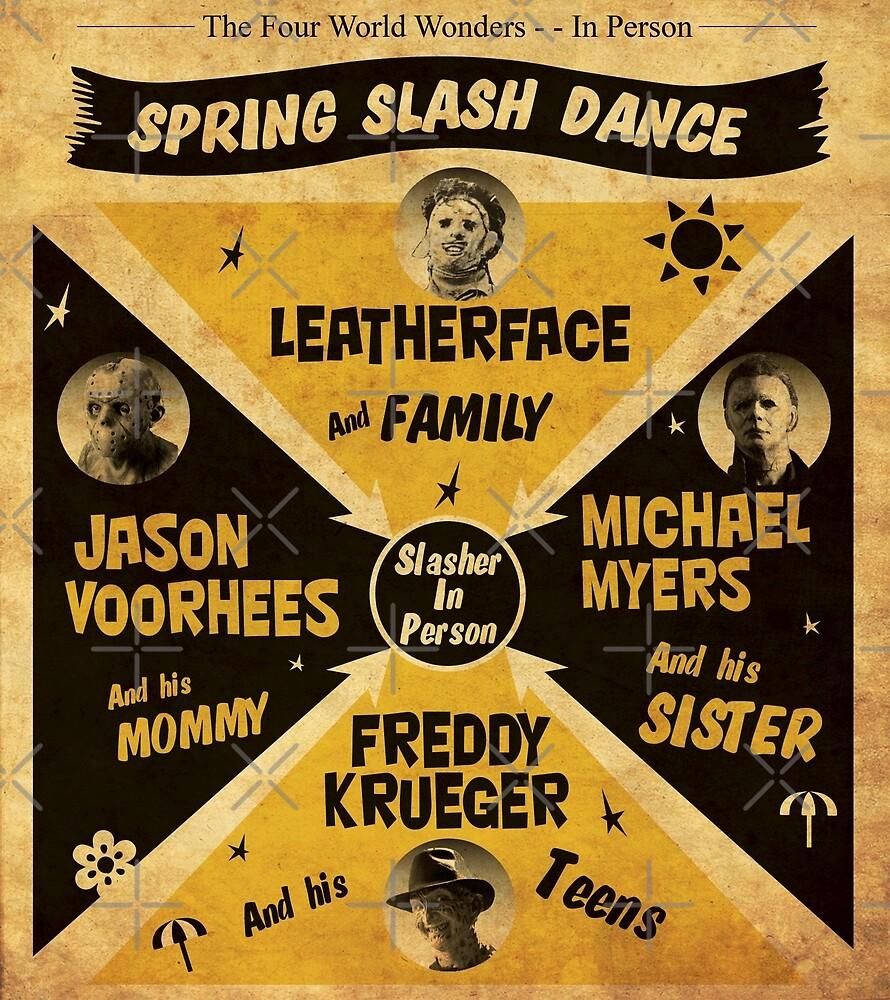 Spring Slash Dance by oldtee