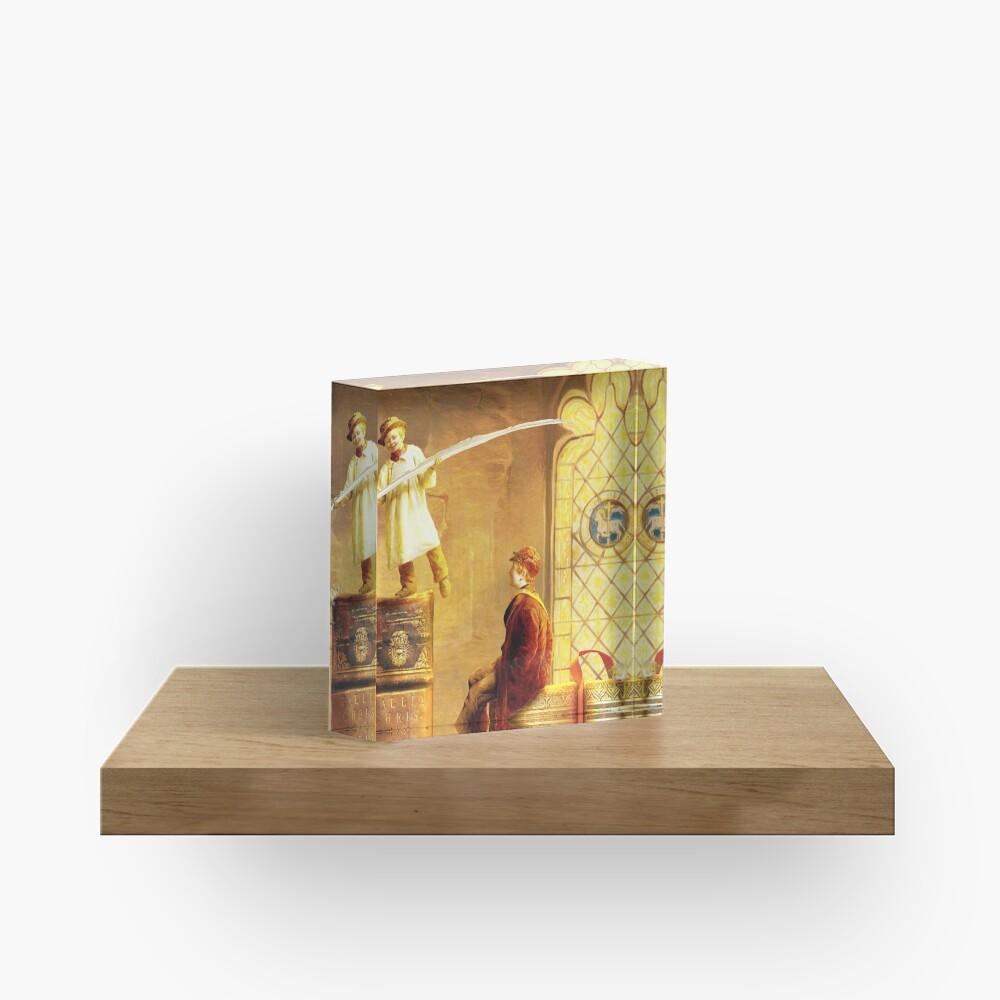 Magic Library Acrylic Block