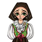 Abito tradizionale di Arzachena - Tradizional Sardinian dress by Lu1nil