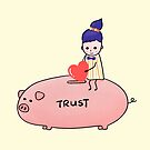 Piggy Bank of Trust by Rowehon