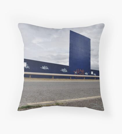 Wide Blue Yonder Throw Pillow