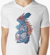 Lucky Rabbit V-Neck T-Shirt