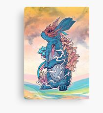 Lucky Rabbit Metal Print