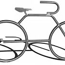 Stainless Steel Bicycle & Shadow by BluEartharts