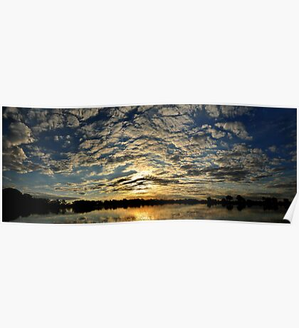 Okavango Delta Sunset - Botswana #2 Poster