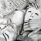 Mask - Drawn by Astrid Strahm