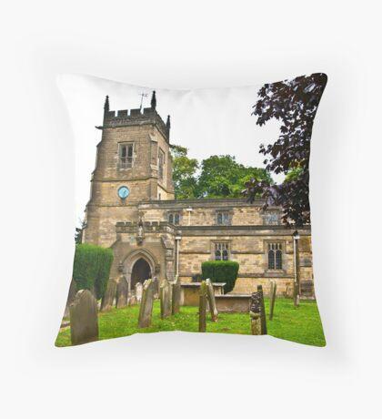 Slingsby Church  Throw Pillow