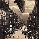 Zeppelin over Berlin by edsimoneit