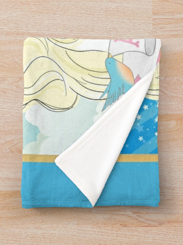 Alternate view of Dolly Parton American Angel Throw Blanket
