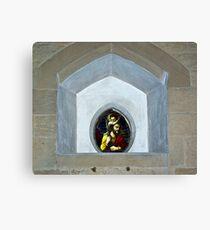 Slingsby Church Window Canvas Print