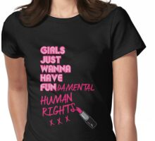 Fundamental Womens Fitted T-Shirt