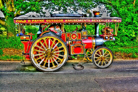 Steam Traction Engine #1 HDR by Trevor Kersley