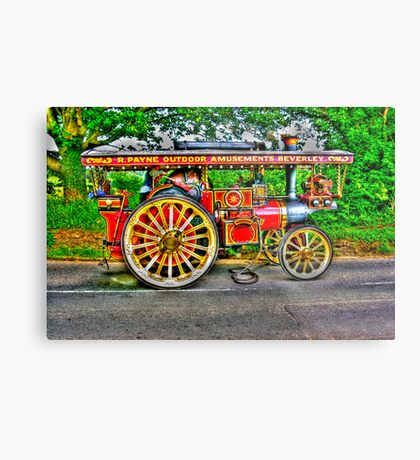 Steam Traction Engine #1 HDR Metal Print