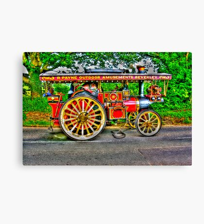 Steam Traction Engine #1 HDR Canvas Print