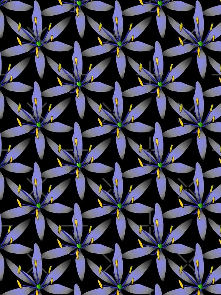 blaue Blumen von rhnaturestyles