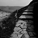 heading up Mam Tor path by ragman