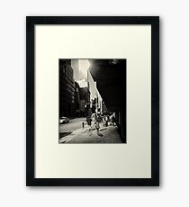NYC moments #7 Framed Print