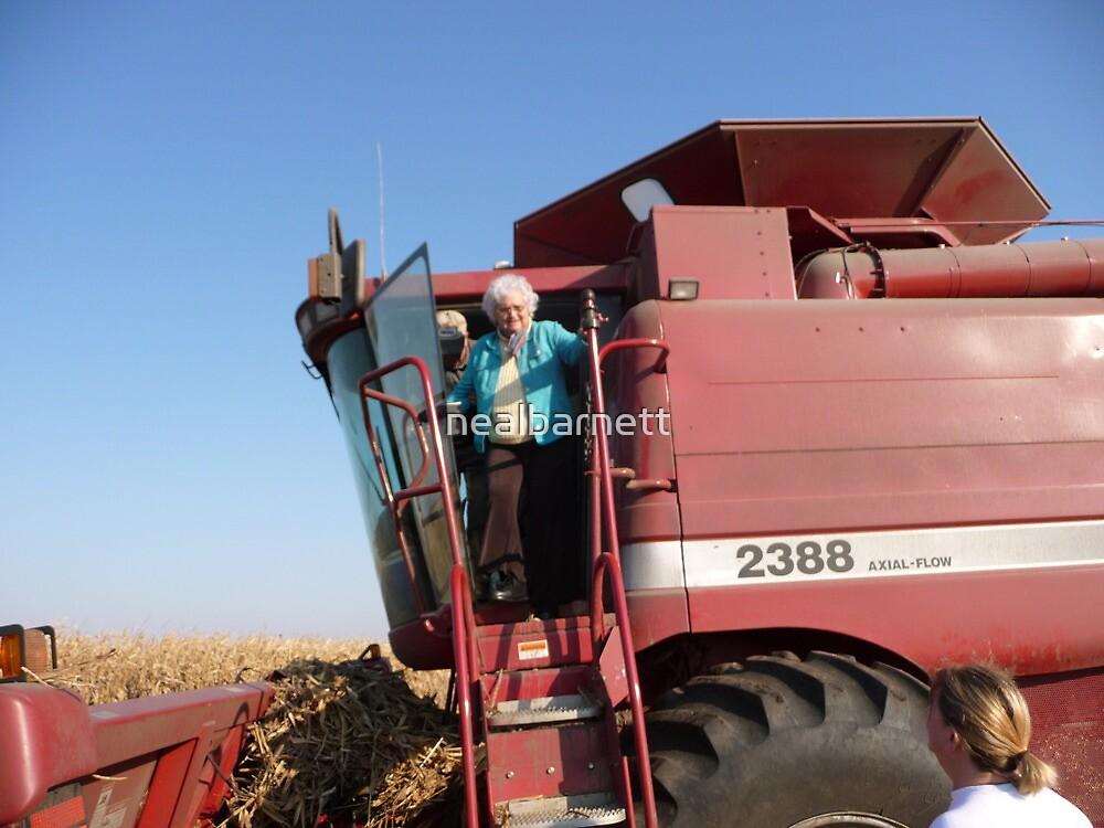 Agricultural tourist by nealbarnett