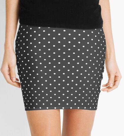 Carbón de leña punteado Minifalda
