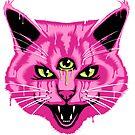 «Viaje Gato Neon Rosa» de Garyck Arntzen