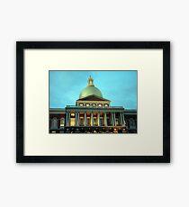 State House Framed Print