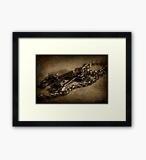Uncertainty Framed Print